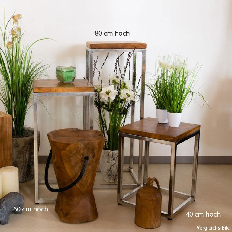 pflanzenständer dreier set
