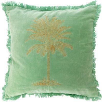 Kissen Palm Grün