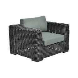 Milano Lounge Sessel mit Rücken- und Sitz- Kissen