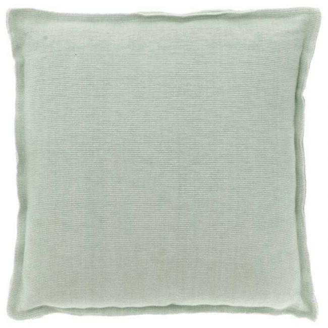Kissen Rib Mint Grün 45 x 45