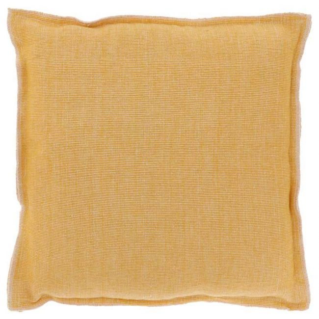 Kissen Rib Gelb 45 x 45