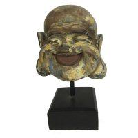 Happy Buddha auf Ständer
