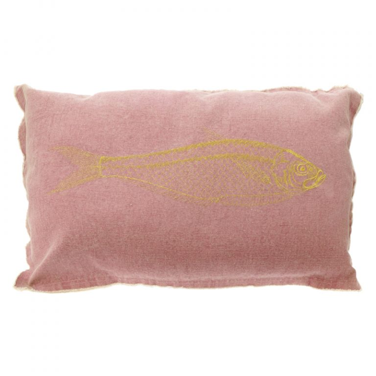 Kissen Fisch Rosa