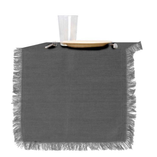 Tischläufer Raaf Grau