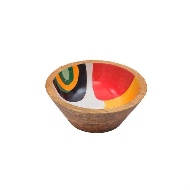 Holzschale Mangoholz 15 cm Durchmesser