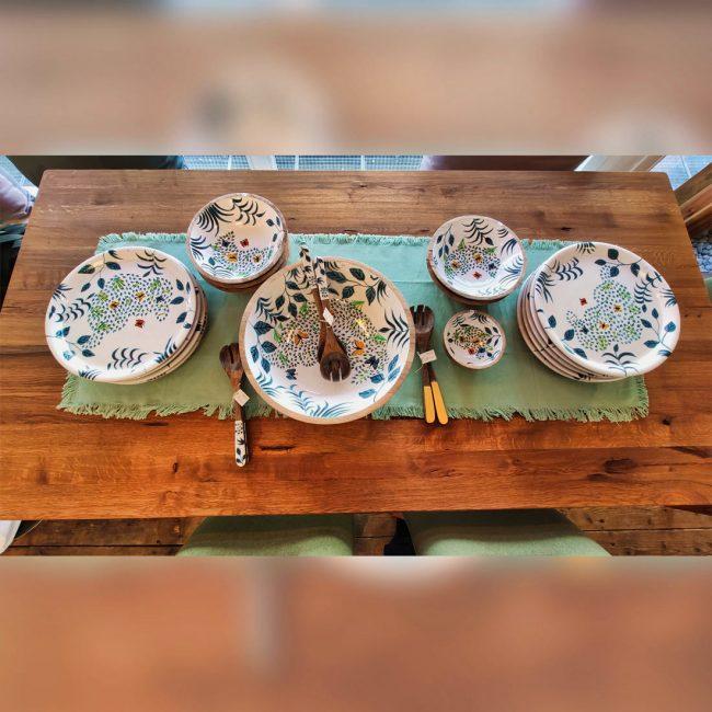 Holzteller und Holzschüsseln aus Mangoholz